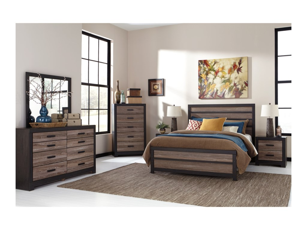 Signature Design by Ashley HarlintonQueen Panel Bed