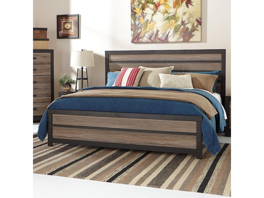 Signature Design by Ashley HarringtonKing Panel Bed