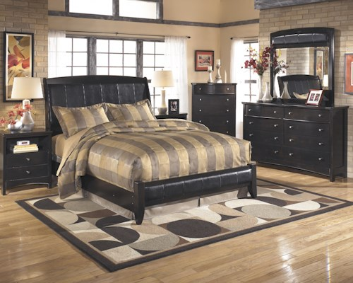 Signature Design by Ashley Harmony Queen Bedroom Group