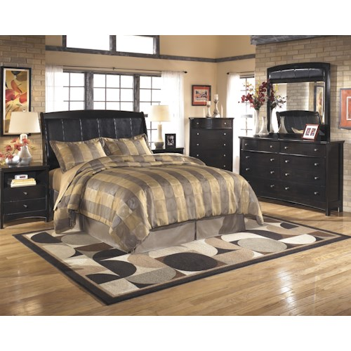 Signature Design by Ashley Harmony Queen/Full Bedroom Group