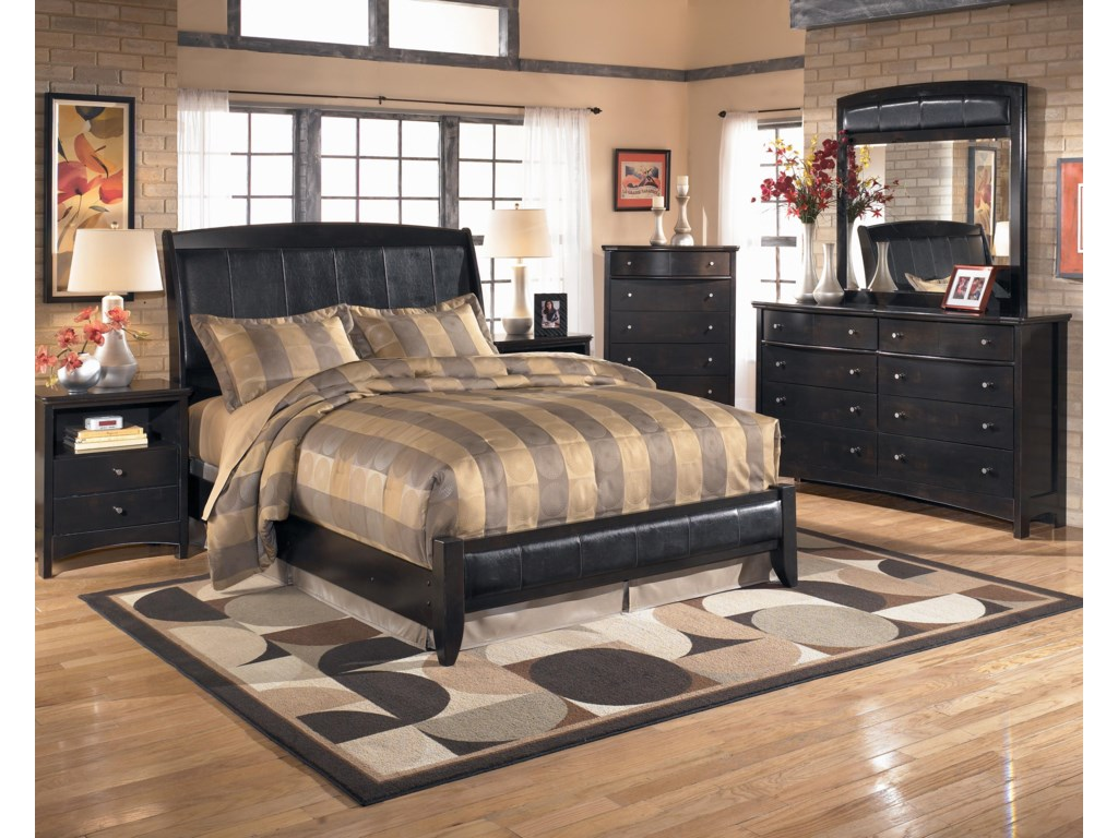 Signature Design by Ashley HarmonyKing Upholstered Platform Style Bed