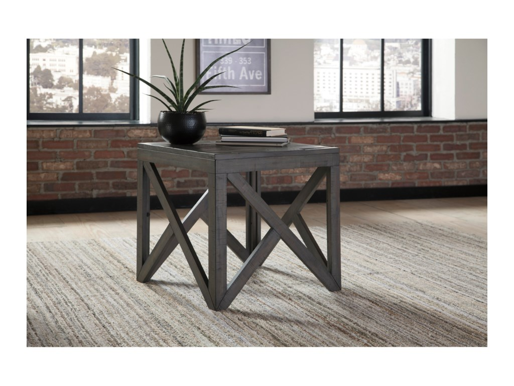 Signature Design by Ashley HaroflynSquare End Table