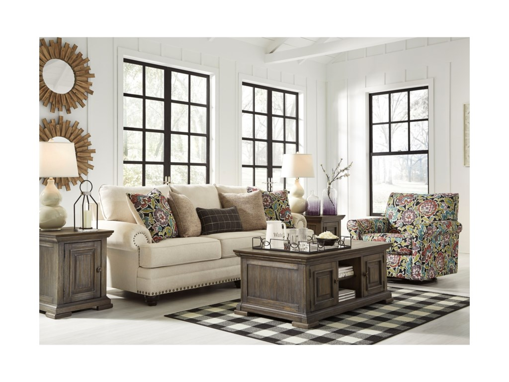 Signature Design by Ashley HarrietsonStationary Living Room Group