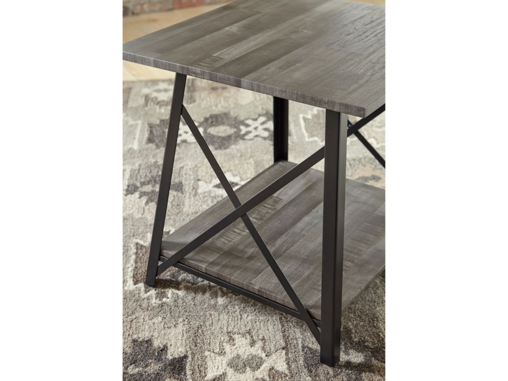 Signature Design by Ashley HarzoniSquare End Table