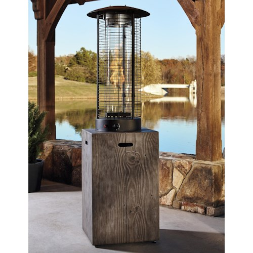 Signature Design By Ashley Hatchlands Patio Heater Beck