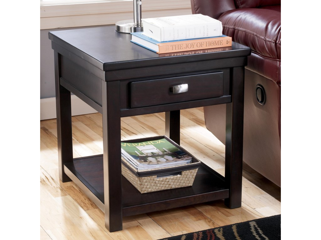 Signature Design by Ashley HadleyRectangular End Table