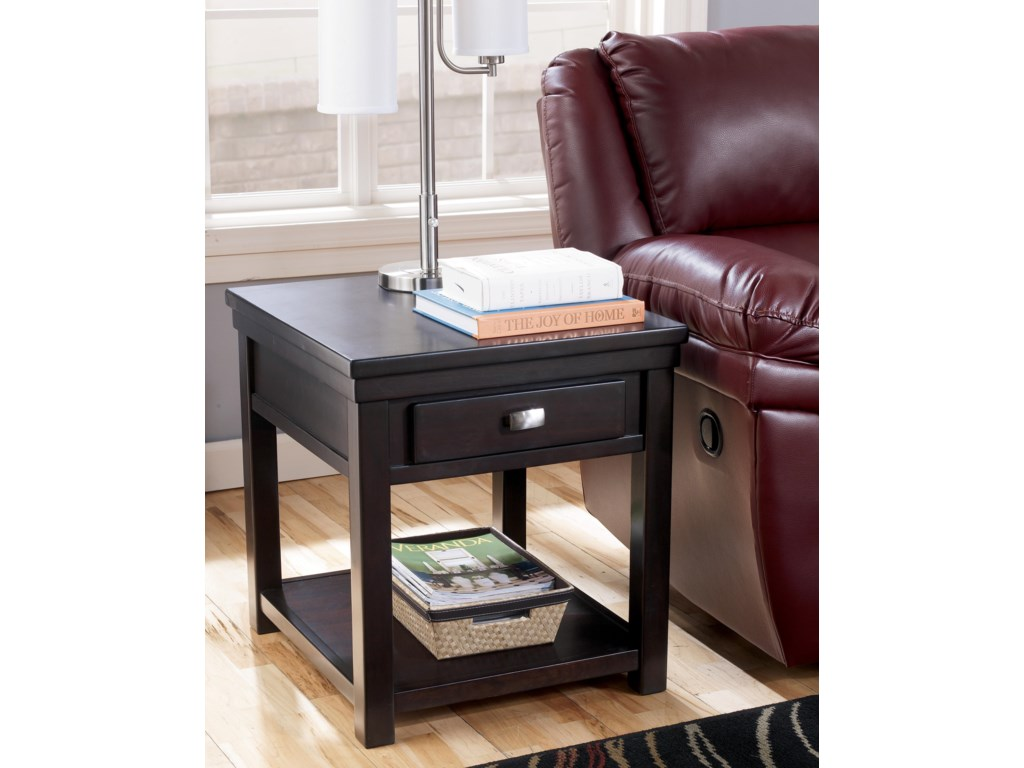 Signature Design by Ashley HatsukoRectangular End Table