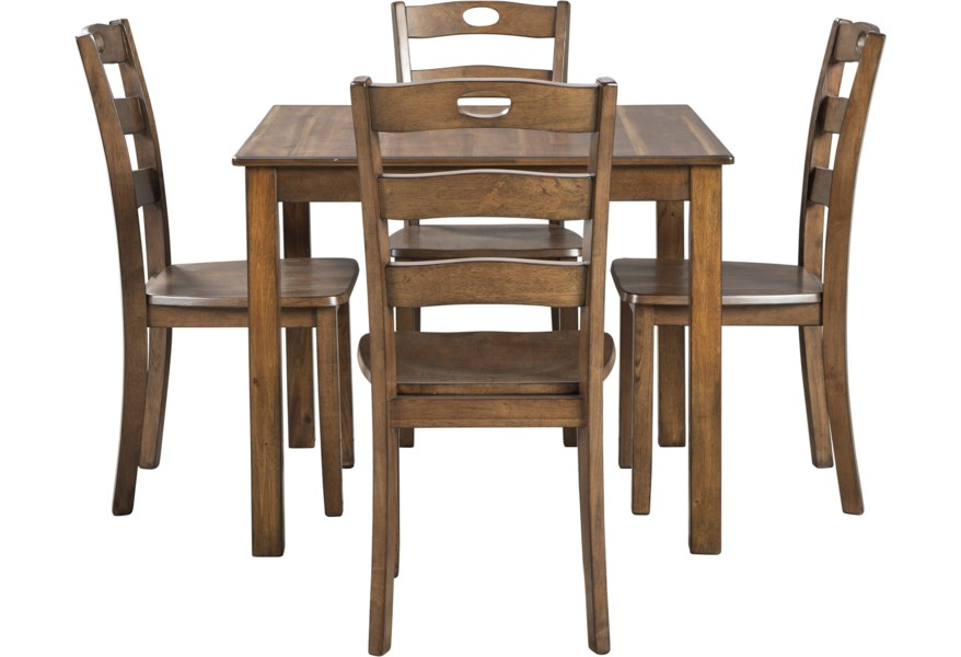 D419 225 Square Dining Table