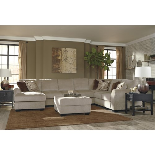 Benchcraft Hazes Stationary Living Room Group