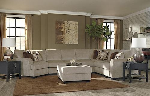 Benchcraft Hazes Stationary Living Room Group