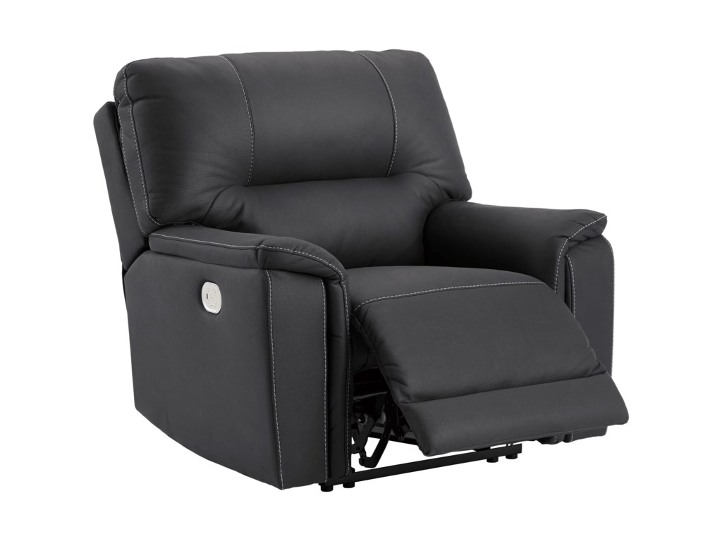 Signature Design by Ashley HeneferPower Recliner with Adjustable Headrest