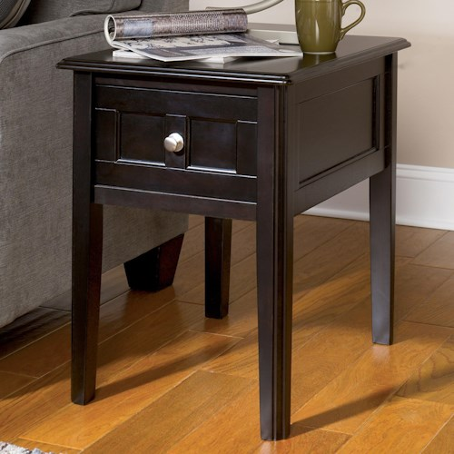 Signature Design by Ashley Henning Chairside End Table with Drawer