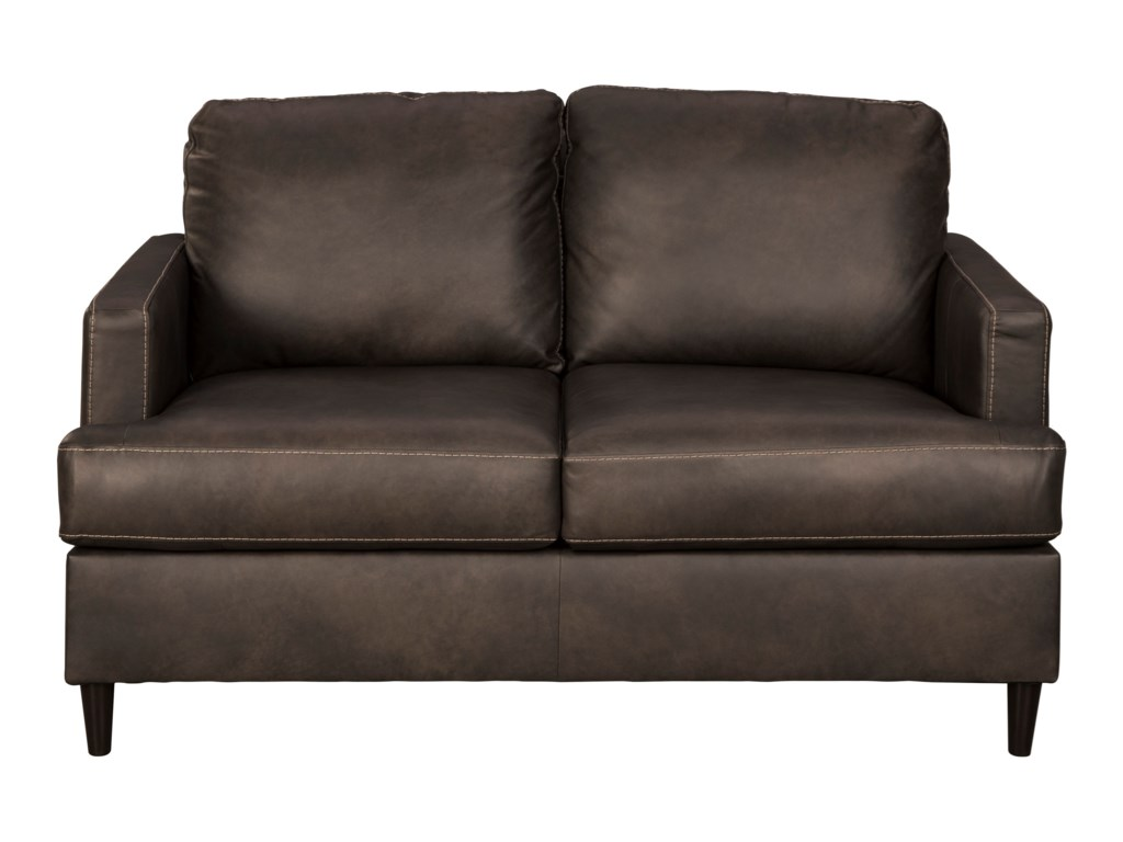 Hettinger Contemporary Loveseat by Signature Design by Ashley at Household  Furniture