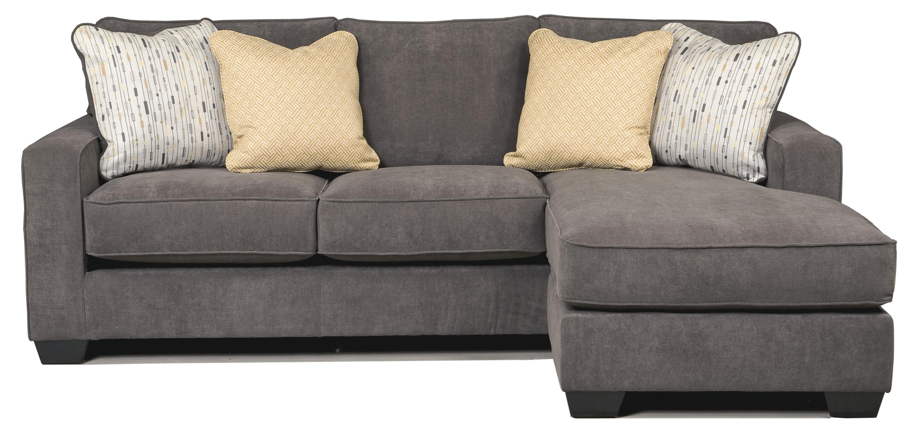 Signature Design by Ashley Hodan - Marble Contemporary Sofa Chaise with Track Arms u0026 Left or ...
