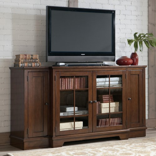Signature Design by Ashley Hodgenville Transitional Tall Extra Large TV Stand