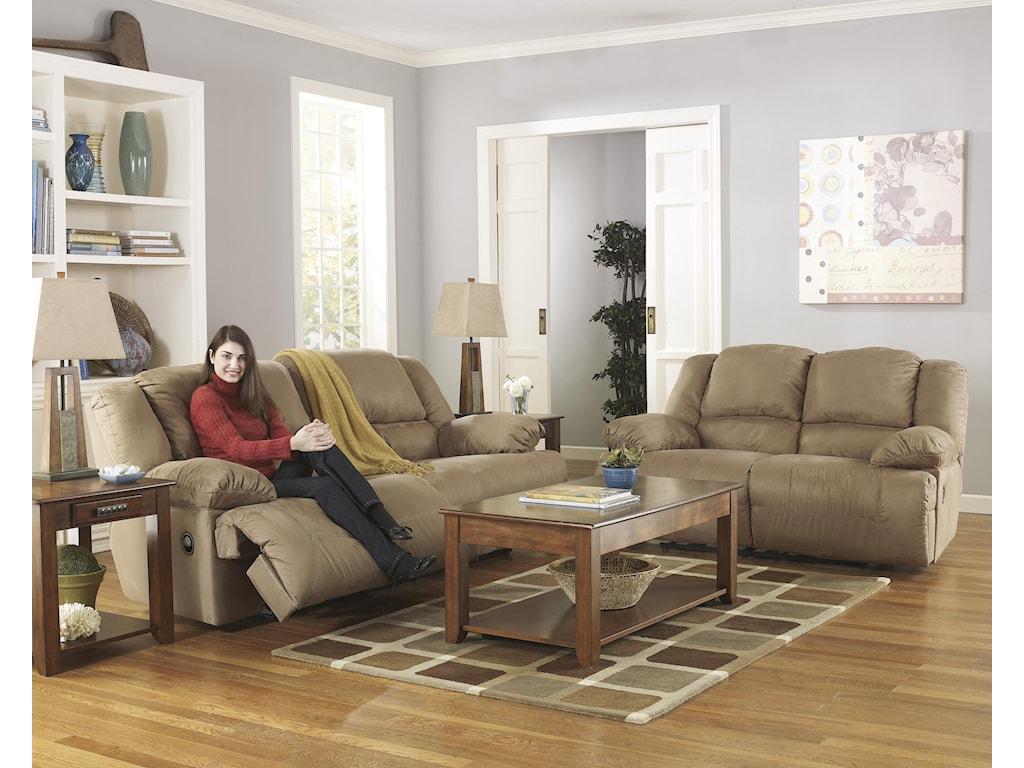 Signature Design by Ashley Hogan - MochaReclining Living Room Group