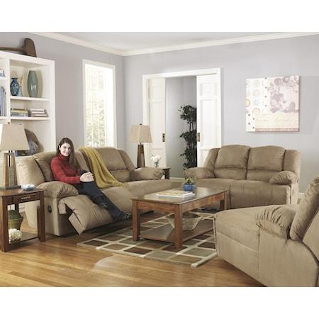 Reclining Sofa, Loveseat, Pressback Chaise