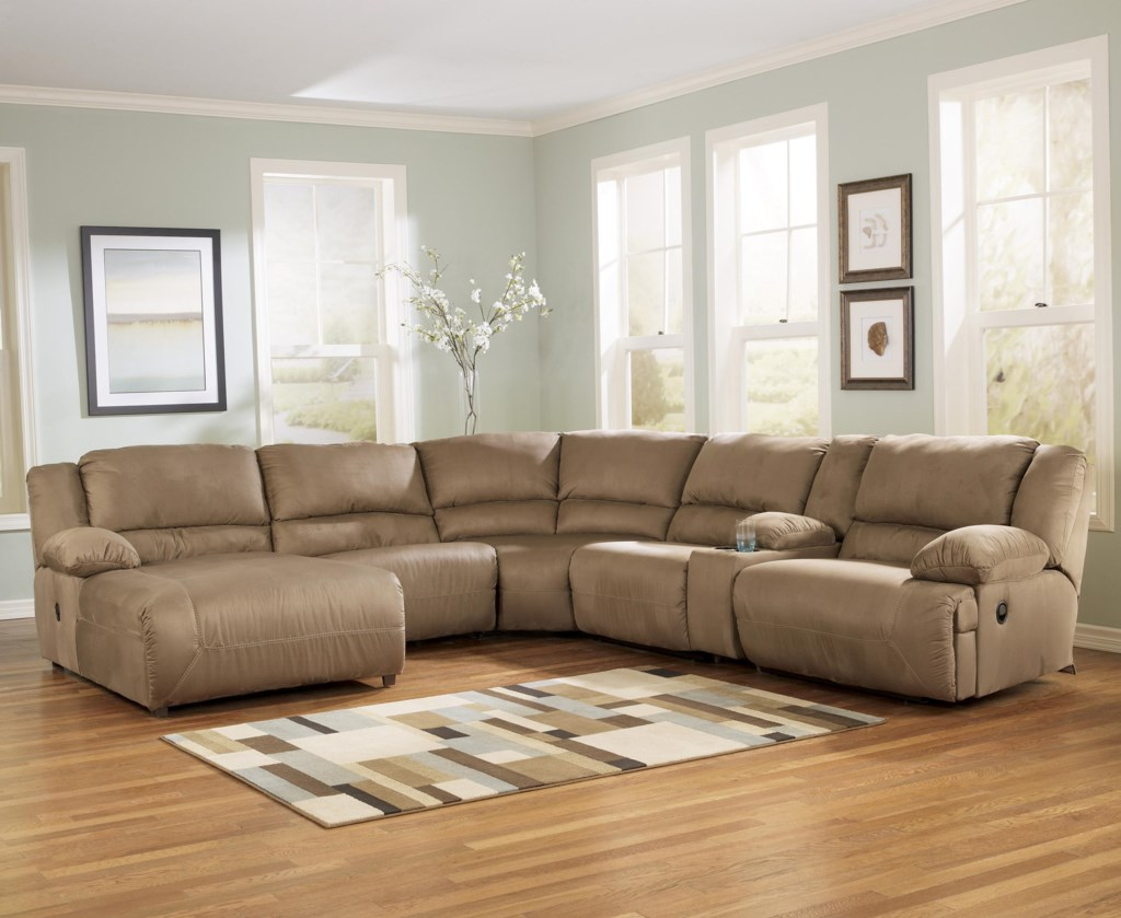 Fresh Family Room with Sectional sofa