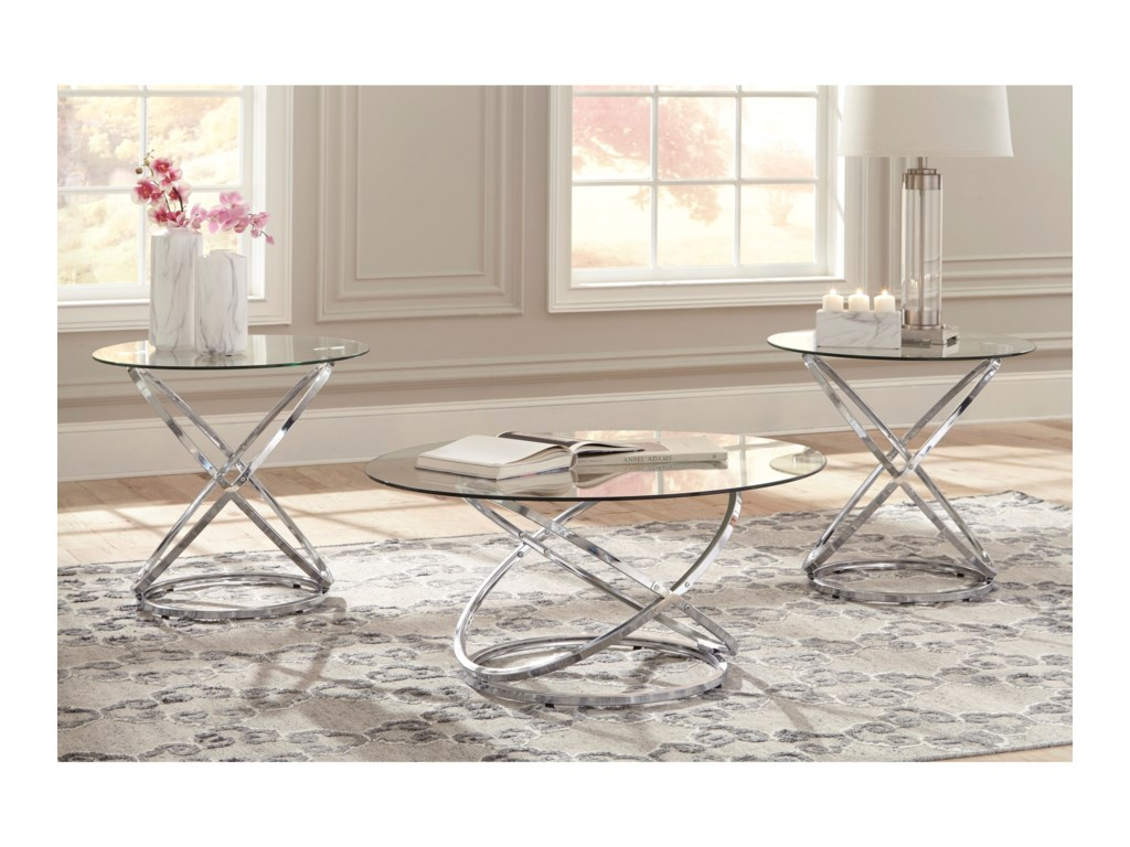 Signature Design by Ashley HollynyxOccasional Table Set