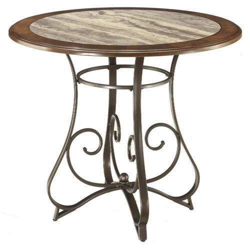 Signature Design by Ashley Hopstand Round Counter Table  : products2Fsignaturedesignbyashley2Fcolor2Fhopstand20 201195589344d314 13b2Bt b0jpgwidth500ampfsharpen25ampdownpreserve0amptrimthreshold80amptrimpercentpadding0 from www.wayside-furniture.com size 500 x 487 jpeg 39kB