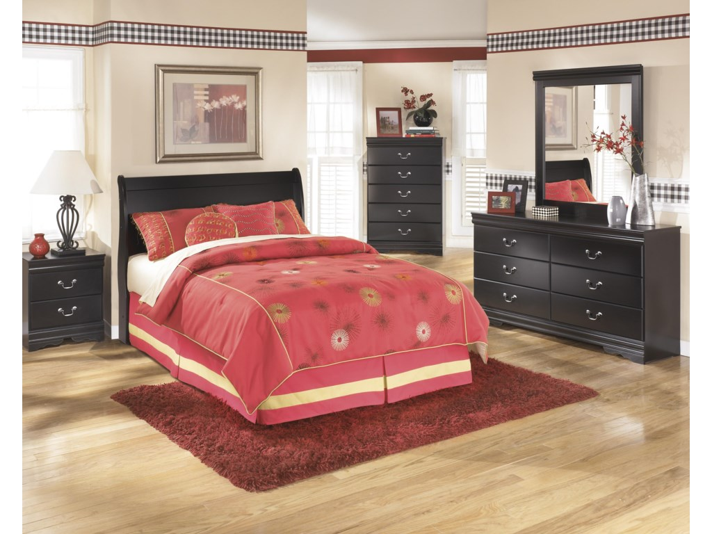 Signature Design by Ashley Huey VineyardFull Bedroom Group
