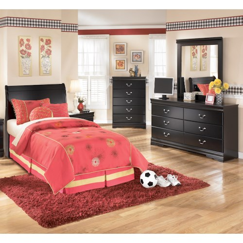 Signature Design by Ashley Huey Vineyard 3 Piece Twin Bedroom Group