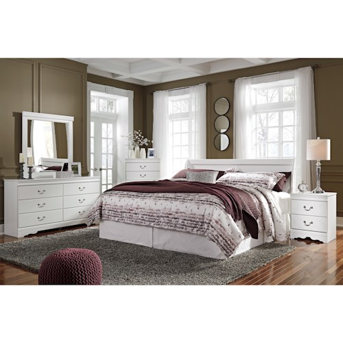 Signature Design by Ashley Anarasia King Bedroom Group