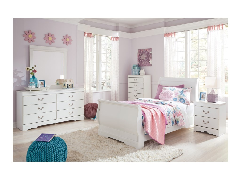 Ashley (Signature Design) AnarasiaTwin Bedroom Group