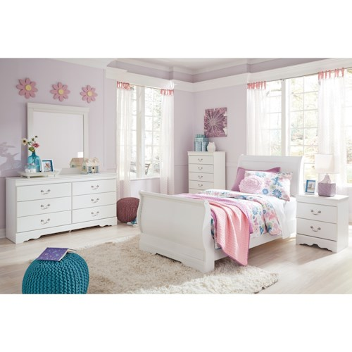 Signature Design by Ashley Anarasia Twin Bedroom Group