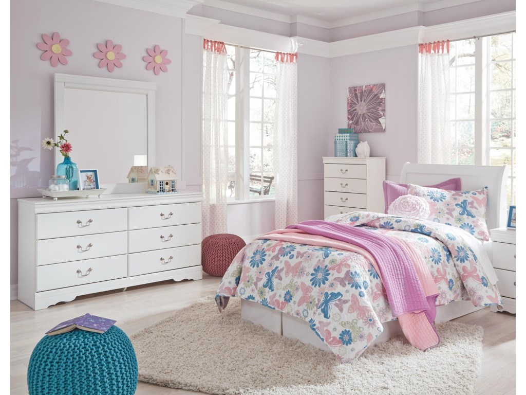 Signature Design by Ashley Anarasia3-Piece Twin Bedroom Group