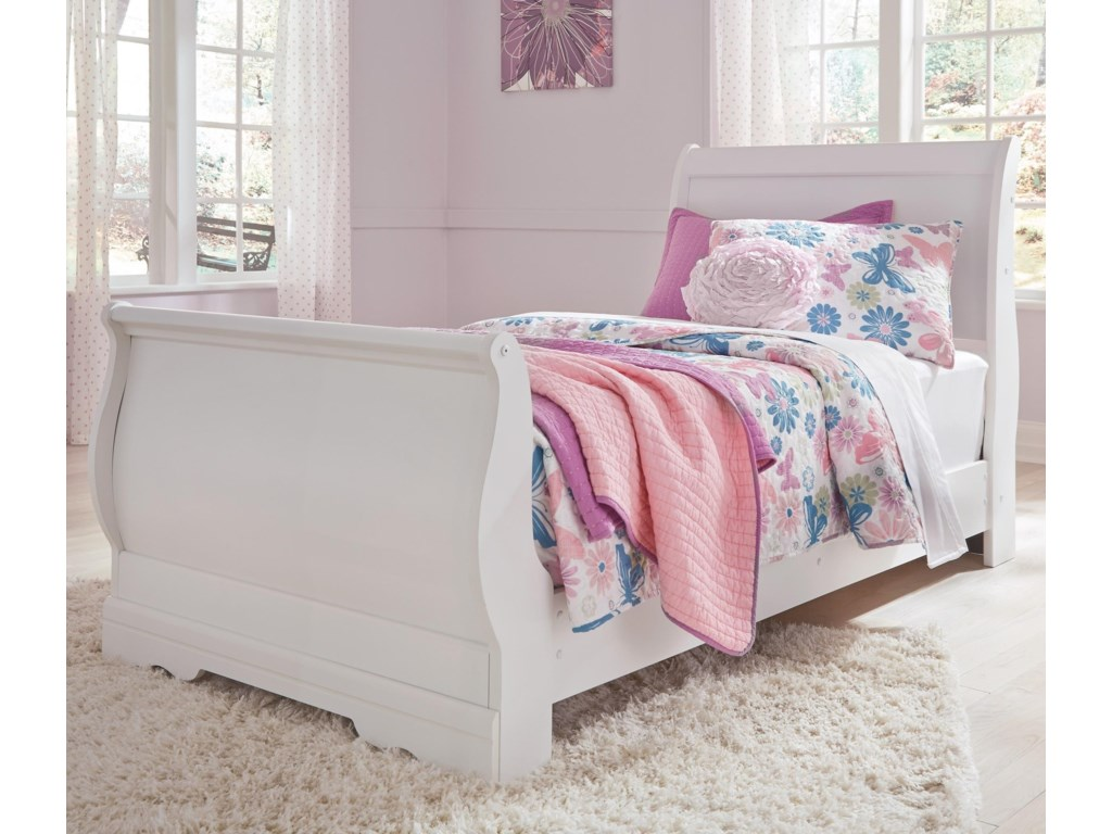 Signature Design by Ashley AnarasiaTwin Sleigh Bed
