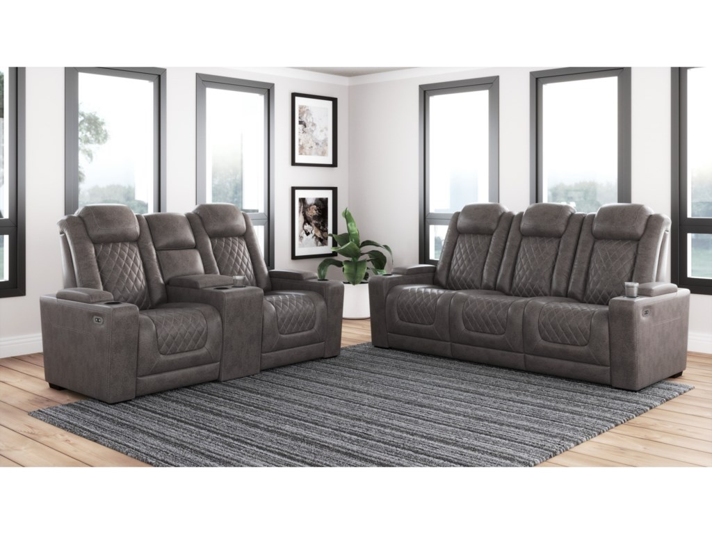 Signature Design by Ashley HyllmontPower Reclining Living Room Group