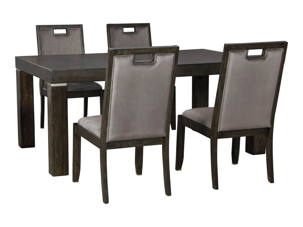 Collection # 4 Hyndell5-Piece Rectangular Dining Table Set