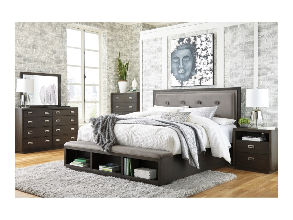 Signature Design by Ashley HyndellKing Bedroom Group