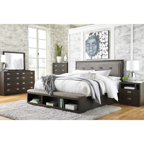 Signature Design by Ashley Hyndell California King Bedroom Group