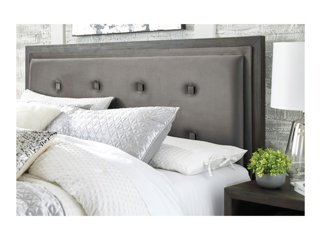 Signature Design by Ashley HyndellKing Upholstered Storage Bed
