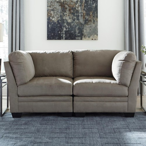 Signature Design by Ashley Iago Contemporary Modular Loveseat