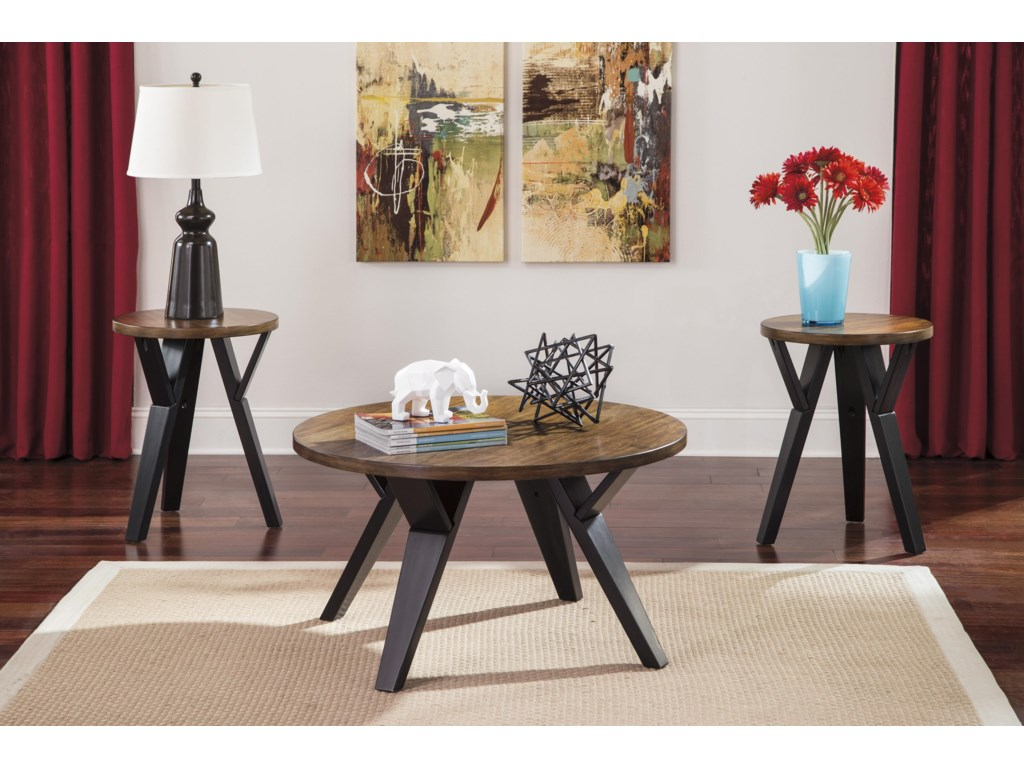 Signature Design by Ashley IngelOccasional Table Set