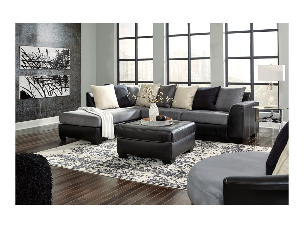 Signature Design by Ashley JacursoSectional Sofa with Chaise