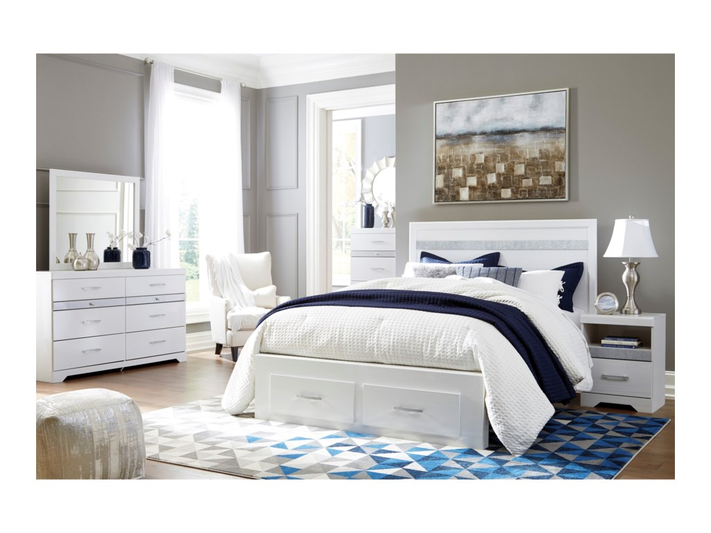 Ashley (Signature Design) JalloryQueen Bedroom Group
