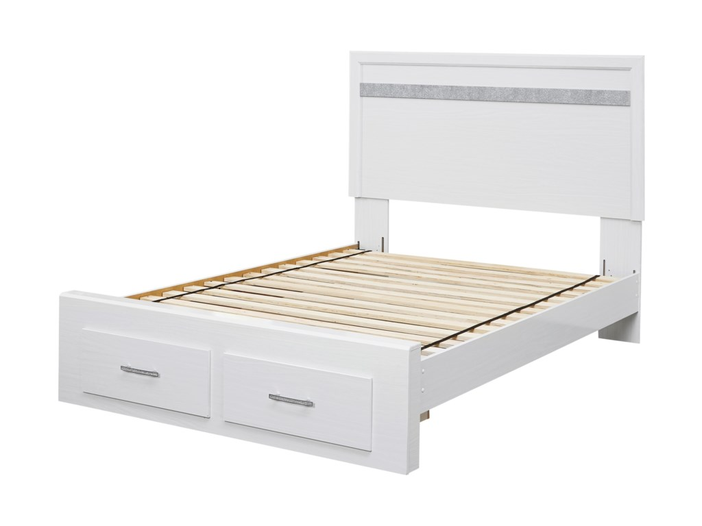 Signature Design by Ashley JalloryQueen Panel Bed with Footboard Storage