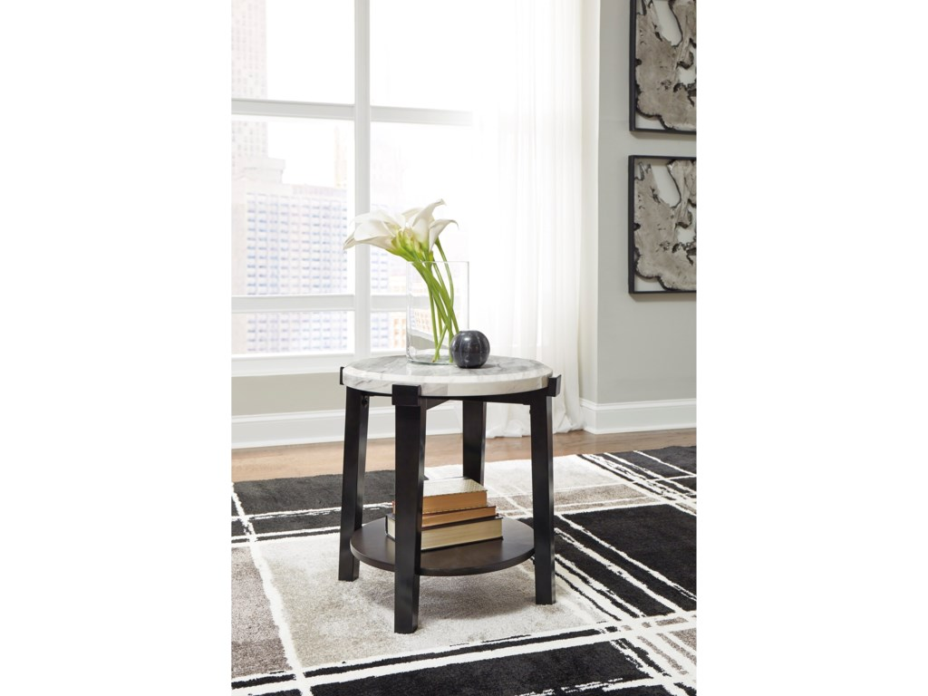 Signature Design by Ashley JanillyRound End Table