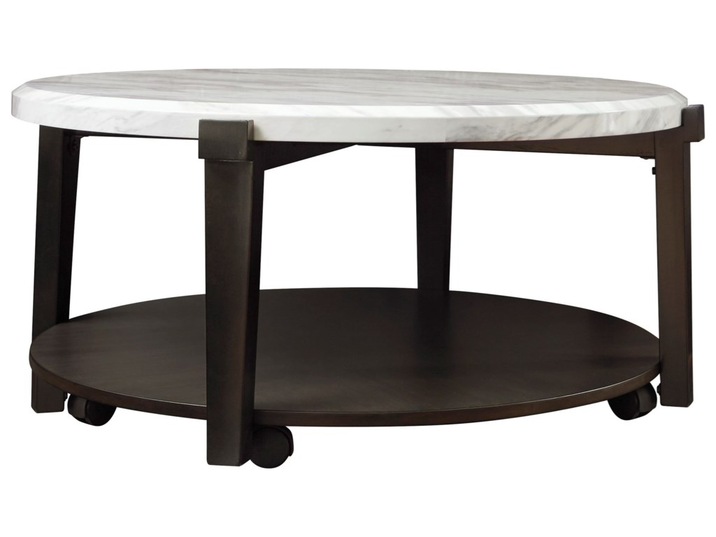 Signature Design by Ashley JanillyRound Cocktail Table