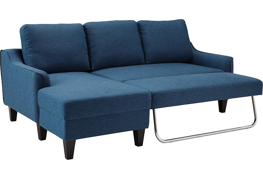 jarreau queen sofa sleeper by signature design by ashley at homeworld furniture