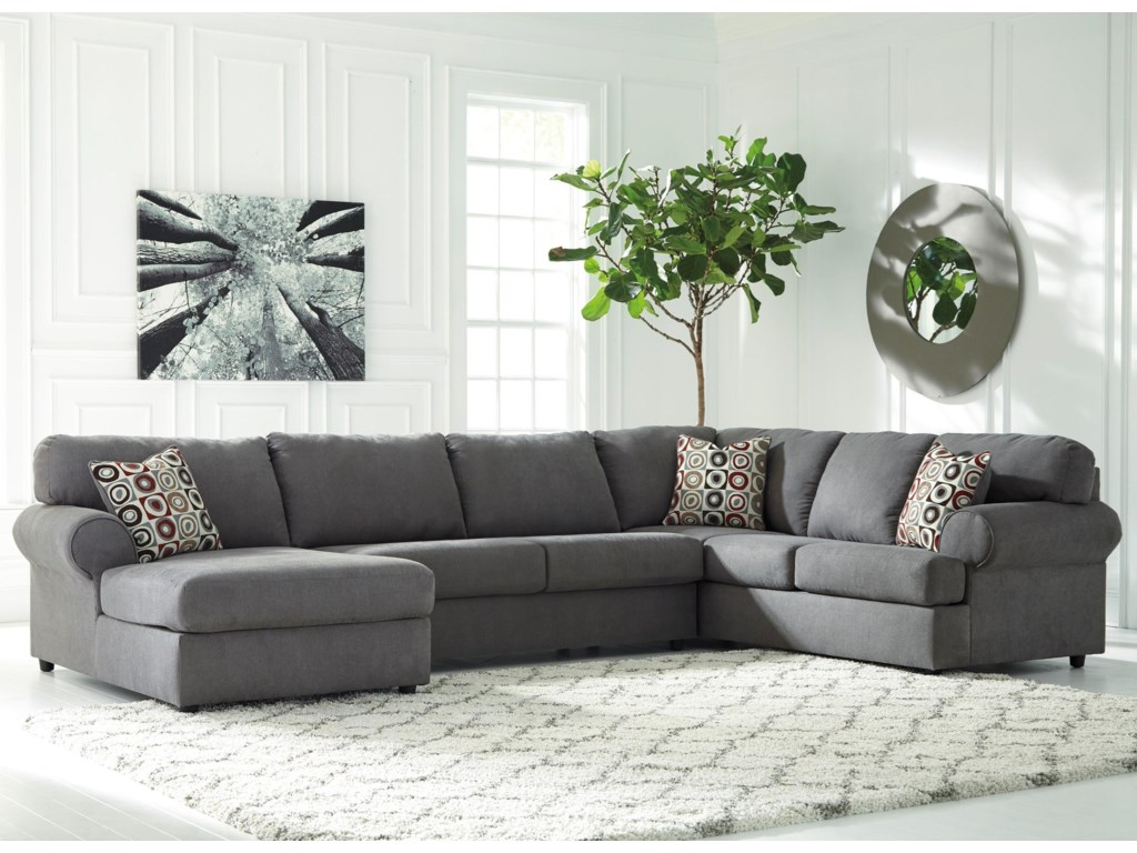Ashley (Signature Design) Jayceon3-Piece Sectional with Chaise