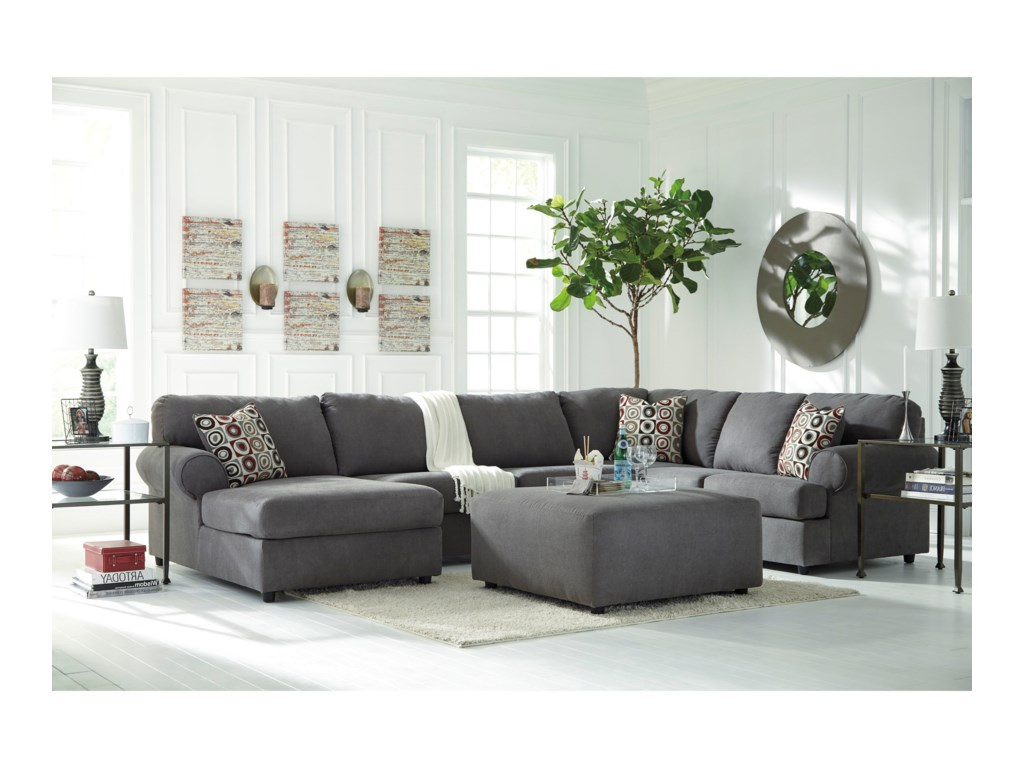 Benchcraft Jayceon3-Piece Sectional with Chaise