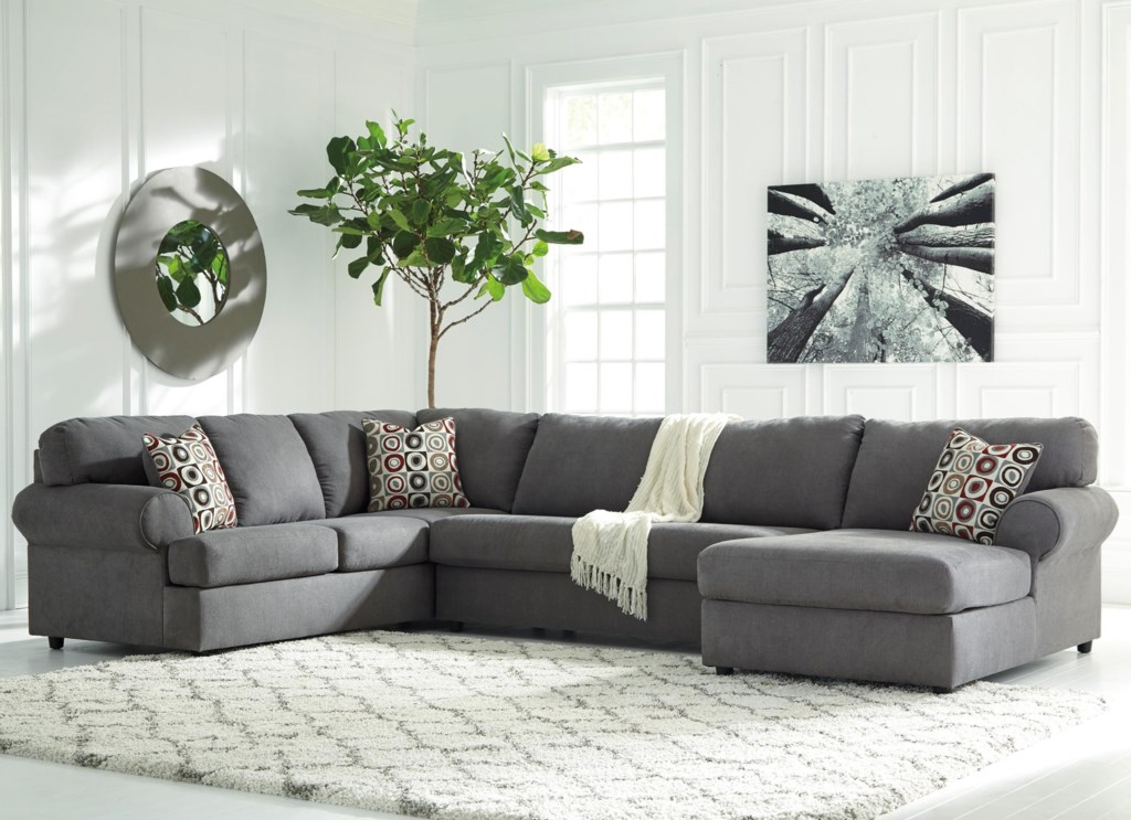 Signature Design By Ashley Jayceon 3 Piece Sectional With Right