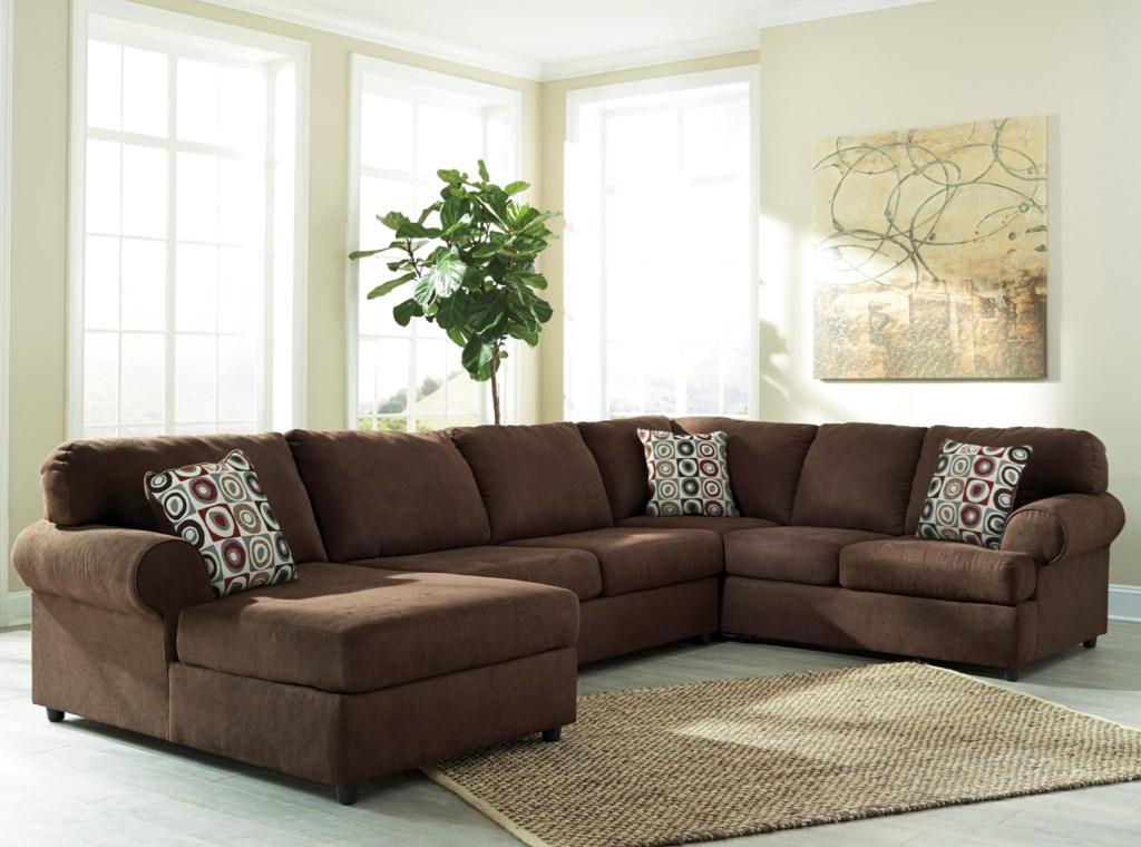 Signature Design By Ashley Jayceon 3 Piece Sectional With Left  ~ Ashley Laf Sofa Sectional
