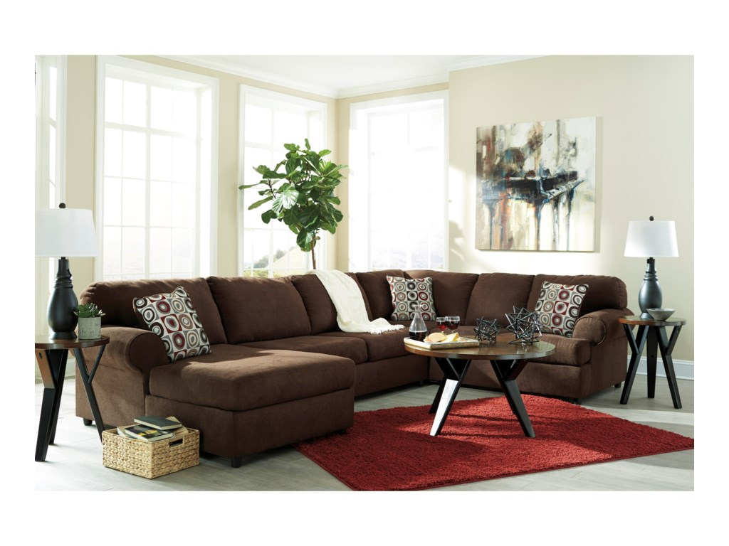 Ashley Signature Design Jayceon3-Piece Sectional with Chaise