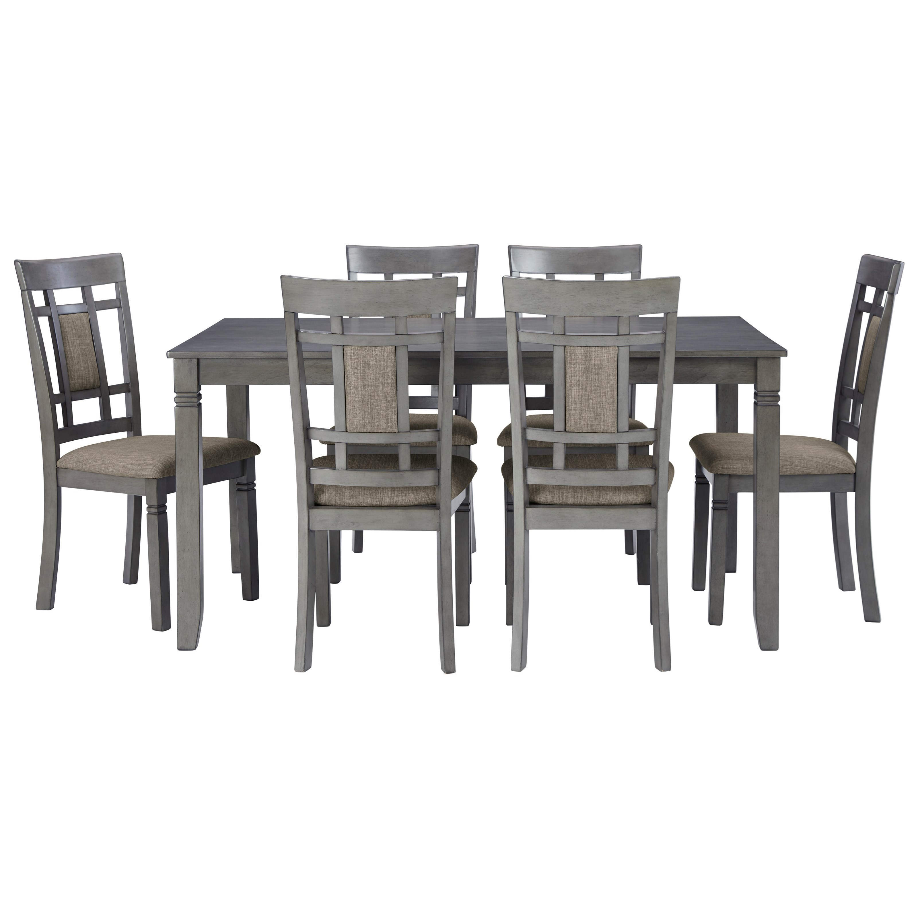 7-Piece Dining Table and Chairs Set